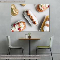 Πίνακας σε καμβά, Delicious sweets