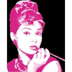 Audrey Hepburn zoom, Αυτοκόλλητο τοίχου