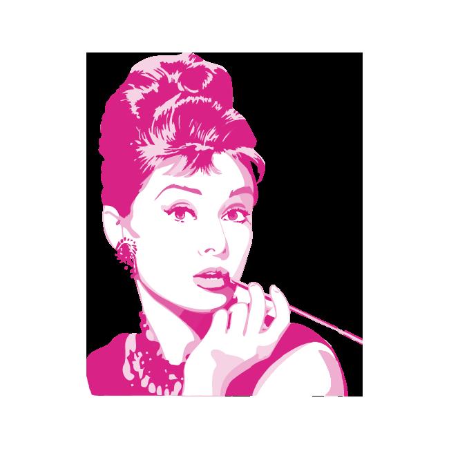 Audrey Hepburn | Αυτοκόλλητο τοίχου