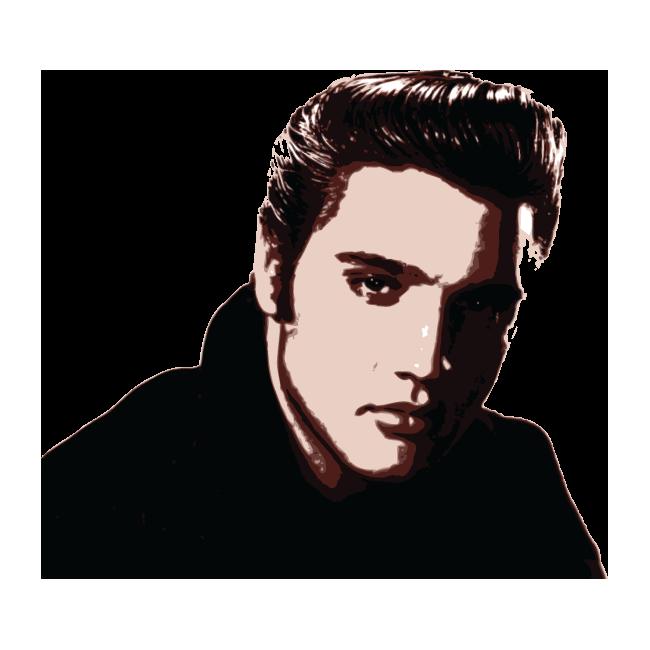 Elvis Presley  Αυτοκόλλητο τοίχου