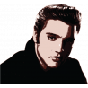 Elvis Presley |Αυτοκόλλητο τοίχου