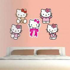 Hello Kitty, αυτοκόλλητα τοίχου