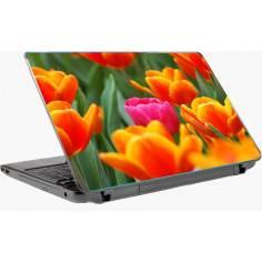 Pink tulip, αυτοκόλλητο laptop