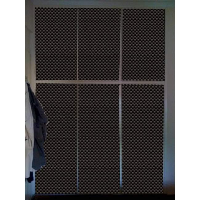 Carbon look, Αυτοκόλλητο ντουλάπας