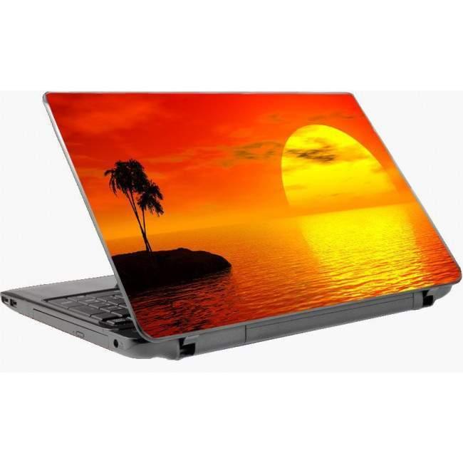 Lonely sunset, αυτοκόλλητο laptop