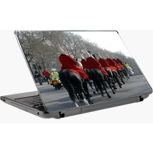 British royal guards, αυτοκόλλητο laptop