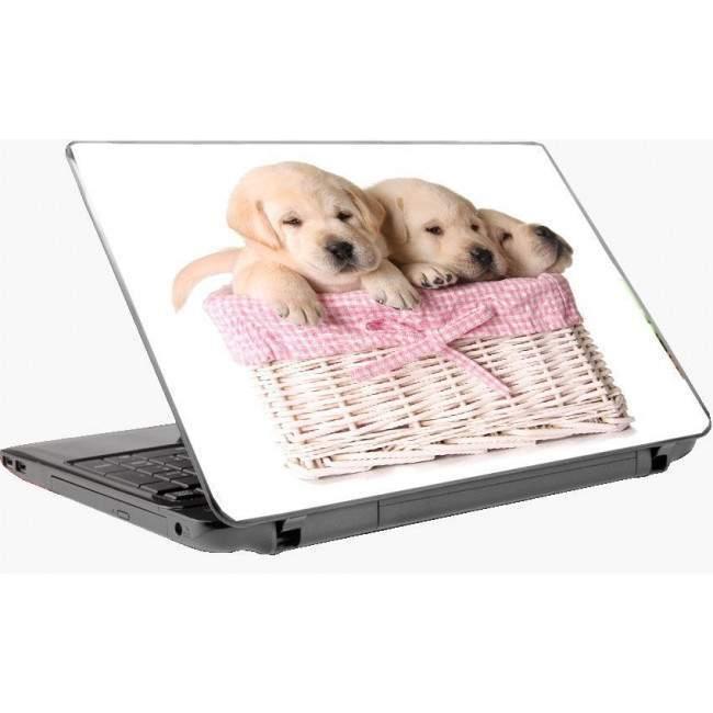 Χαριτωμένα κουταβάκια 2 , αυτοκόλλητο laptop