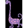 Χαρούμενος δεινόσαυρος | Αυτοκόλλητο τοίχου