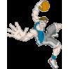 Μπάσκετ Κάρφωμα style 2 | Αυτοκόλλητο τοίχου , κοντινό
